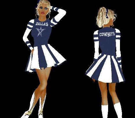 All Cheerleader outfits come with 2 parts, skirt and top mpzboots
